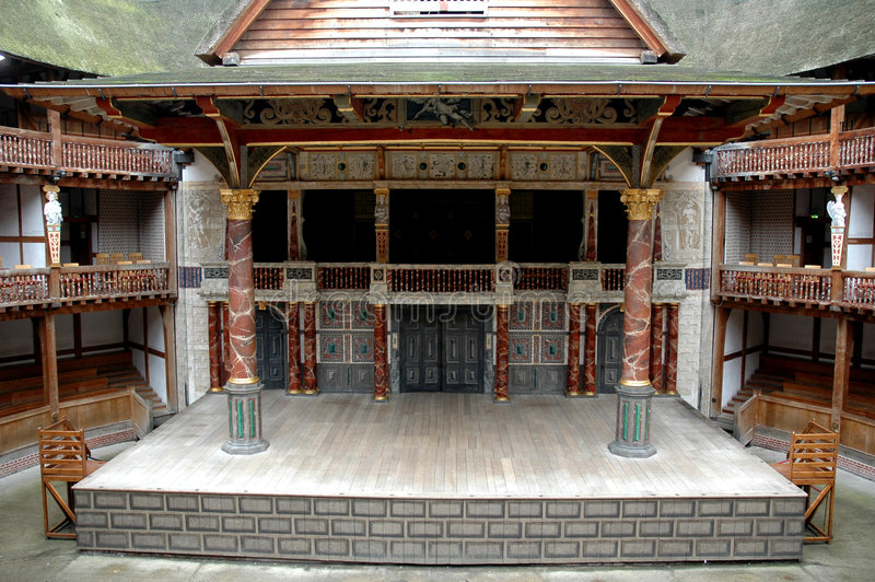 teater för 3 jordklot royaltyfri fotografi