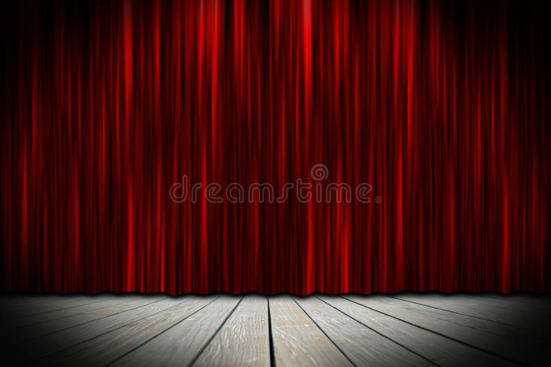 Teateretapp royaltyfri foto