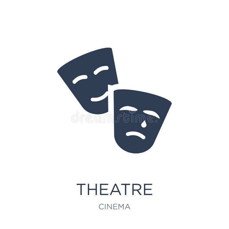 Teatersymbol  vektor illustrationer