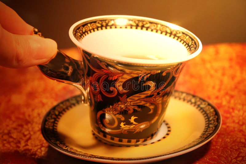 Download Teatime stock foto. Afbeelding bestaande uit greep, koffie - 49856