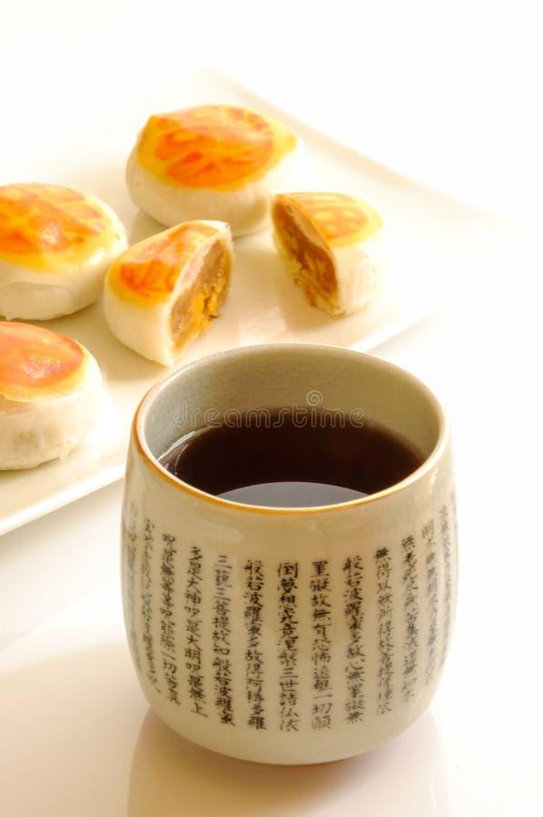 Teatime di stile cinese fotografie stock