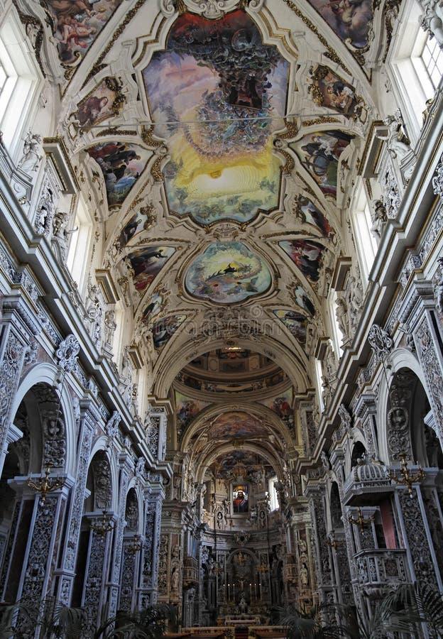 teatini του Giuseppe Παλέρμο SAN dei εκκλη&sigma στοκ εικόνες