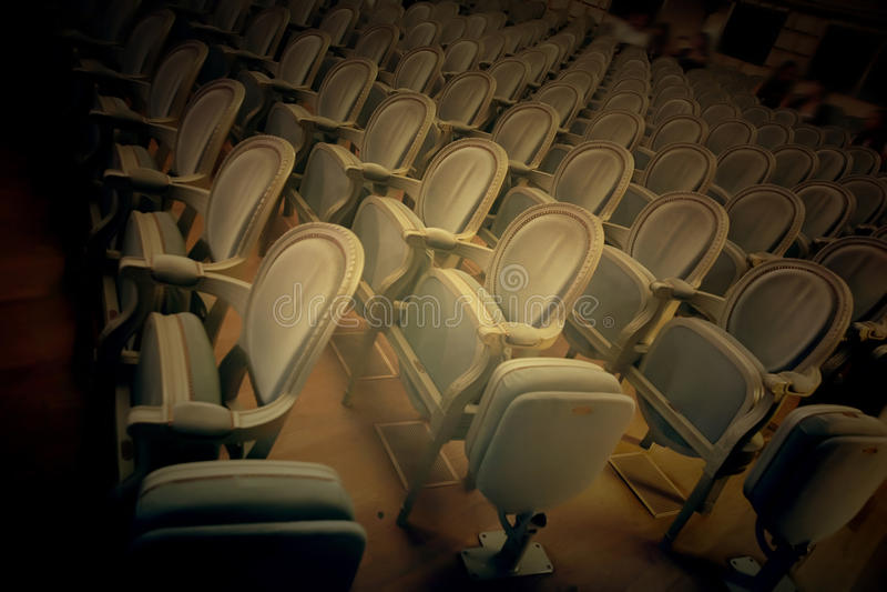 Teatrów krzesła zdjęcia stock