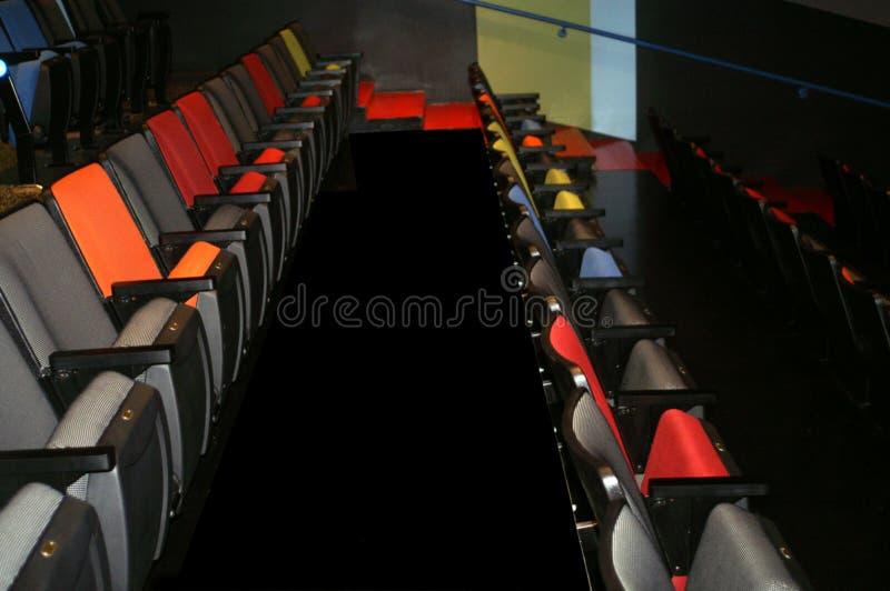 Teatrów siedzenia fotografia stock