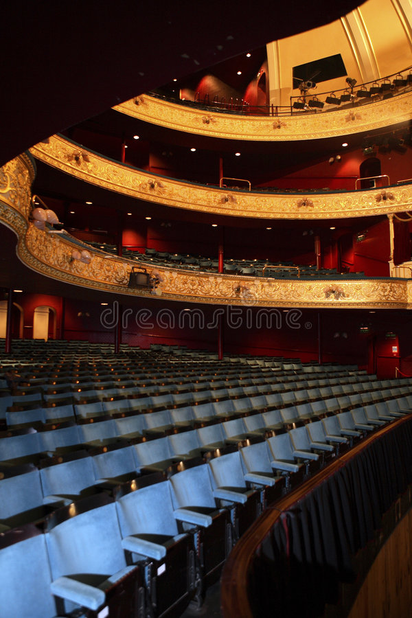 teatr audytorium obrazy royalty free