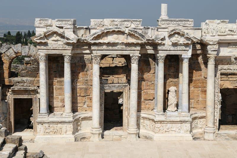 Teatr Hierapolis w Turcja zdjęcie royalty free