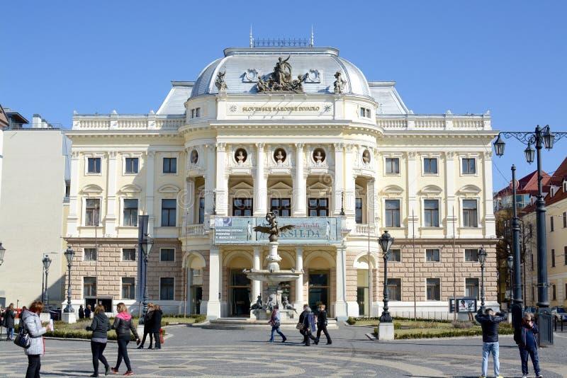 Teatr Narodowy, Bratislava obraz royalty free