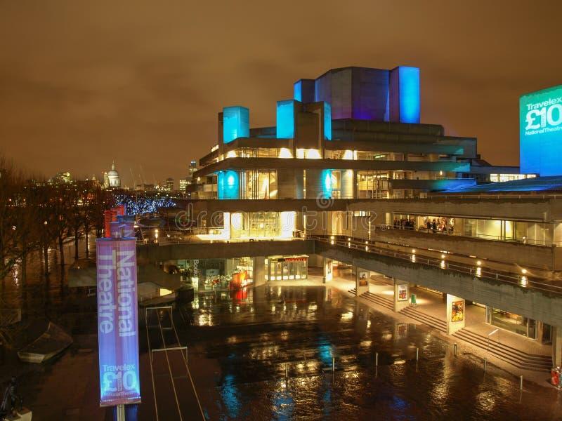 Teatr Narodowy Londyn zdjęcia stock