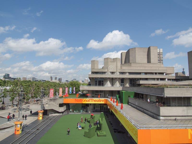 Teatr Narodowy Londyn obraz royalty free