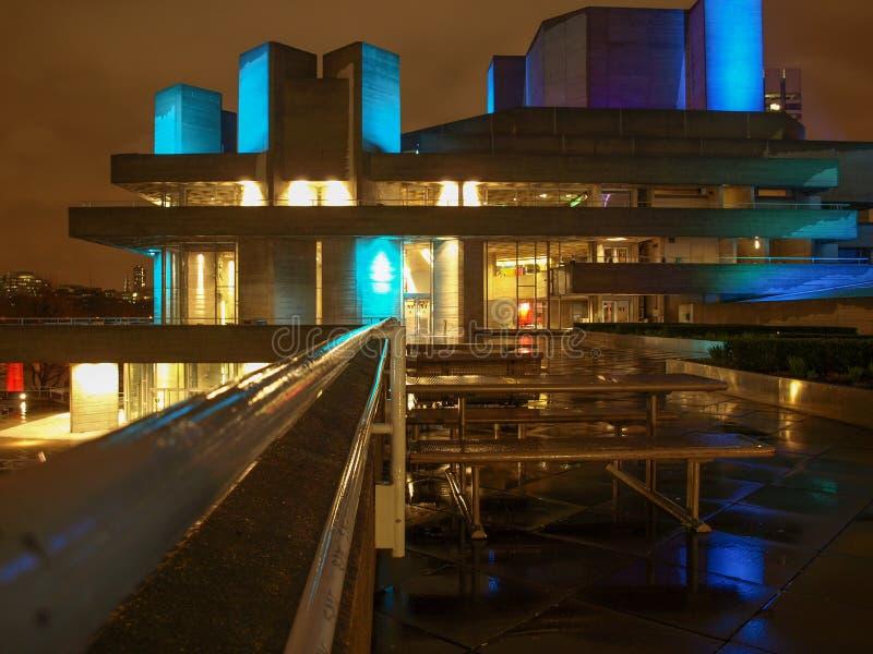 Teatr Narodowy Londyn obraz stock