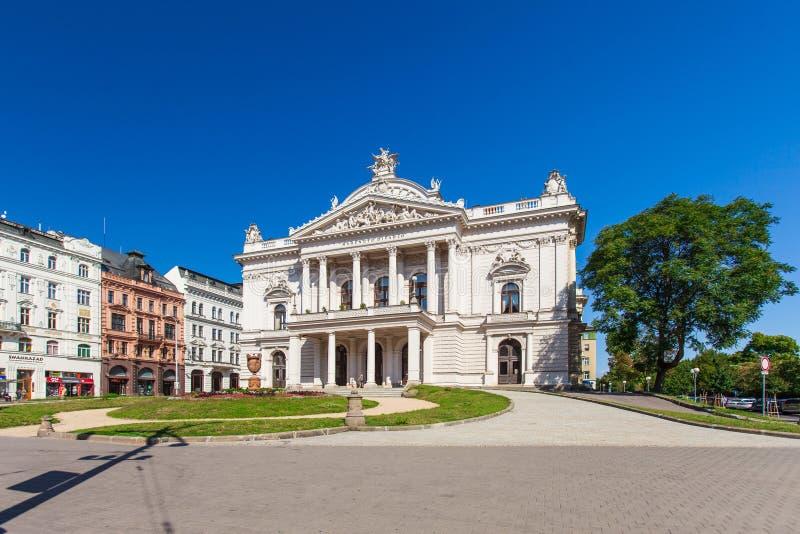 Teatr Narodowy w Brno, republika czech. zdjęcie stock