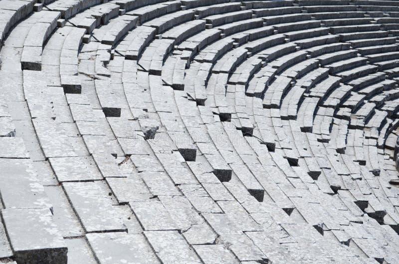 Teatr przy Epidauros Grecja zdjęcie royalty free