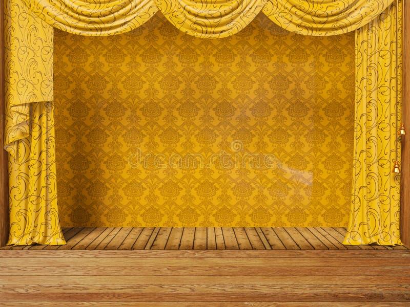 Teatro illustrazione vettoriale