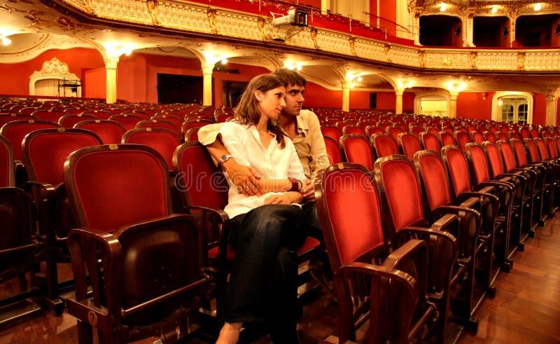 Teatro imagem de stock royalty free