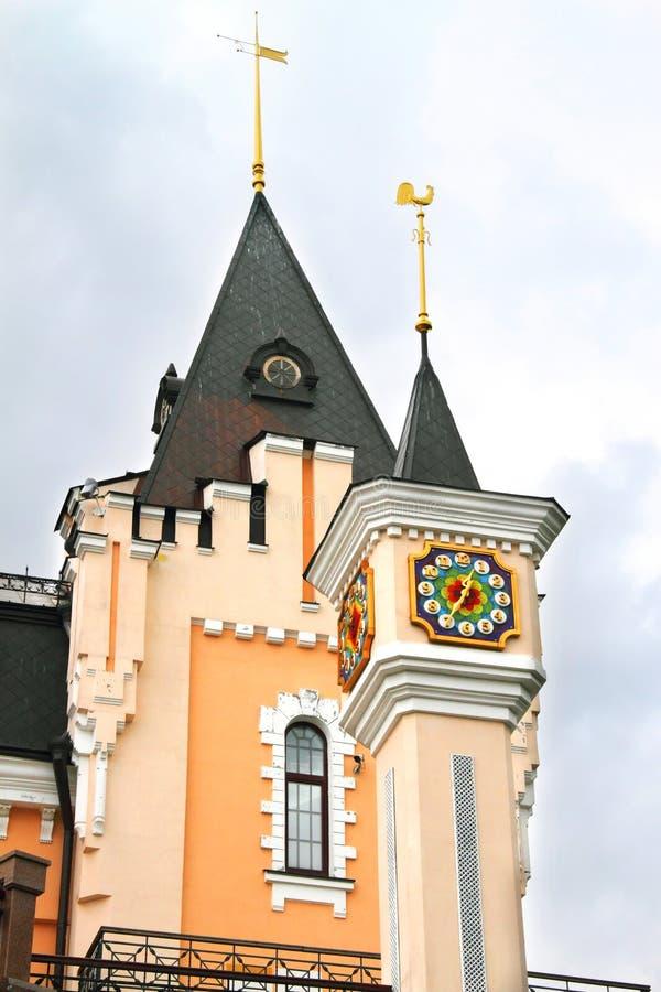 Teatro académico de la marioneta de Kiev imágenes de archivo libres de regalías