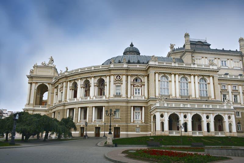 Teatro académico nacional de Odessa imágenes de archivo libres de regalías