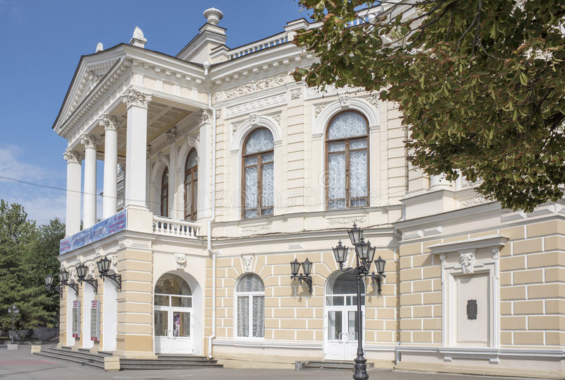 2016: Teatro accademico della gioventù; architetto Nikolai Durbach; 1899 fotografia stock