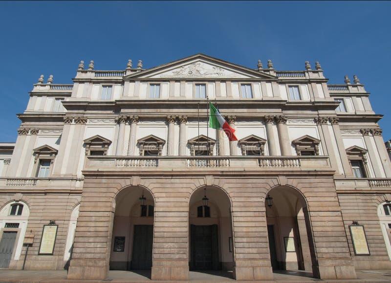 Teatro alla Scala, Milan royalty free stock photography