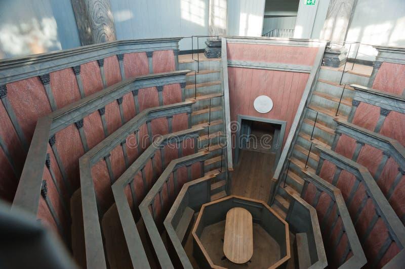Teatro anatómico fotografía de archivo
