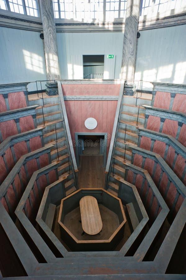 Teatro anatómico fotografía de archivo libre de regalías