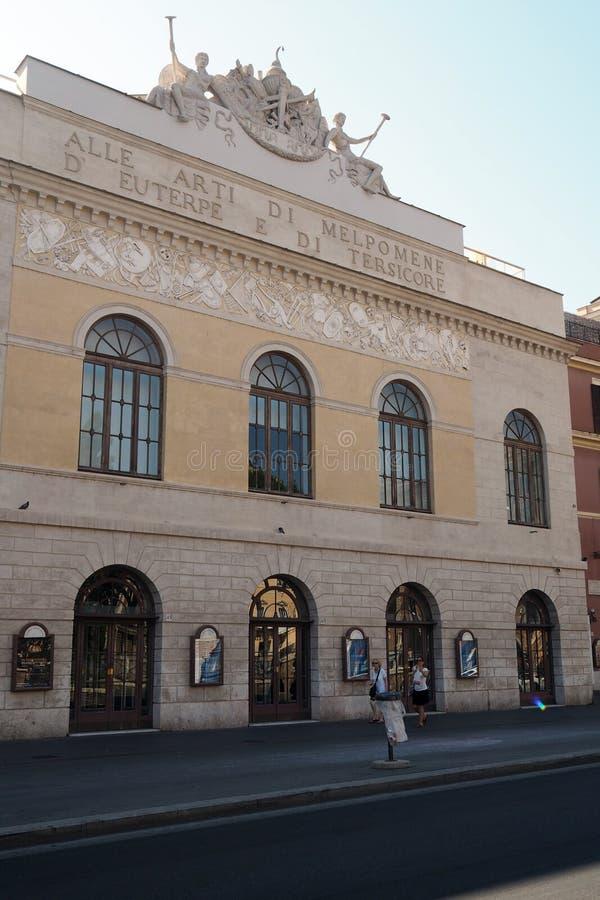 Teatro Argentyna w Rzym, Włochy zdjęcia royalty free