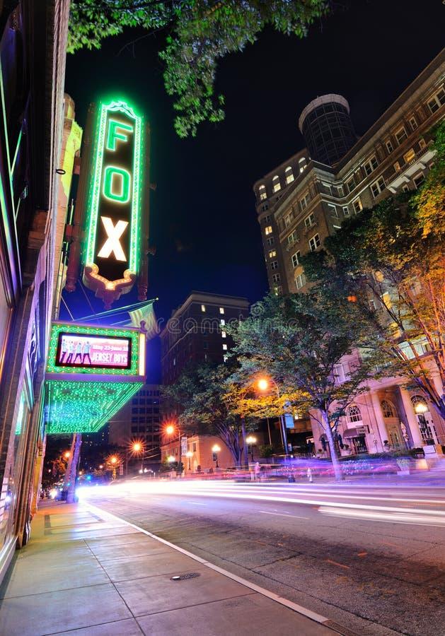 Teatro Atlanta di Fox immagini stock