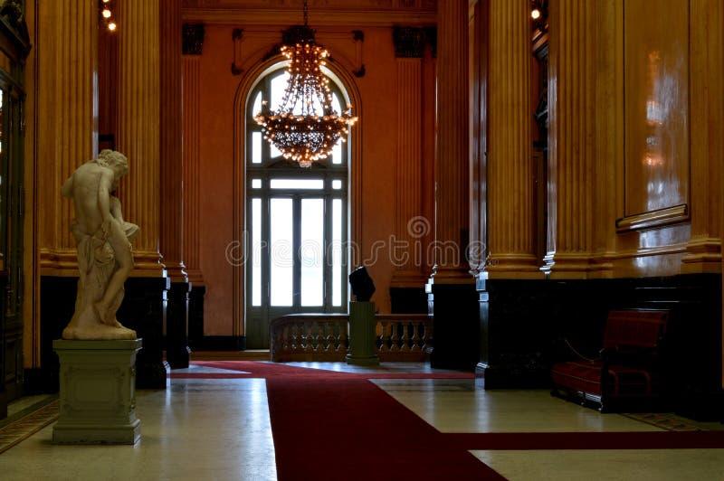 Teatro CÃ ³ lon, Buenos aires, Argentinië royalty-vrije stock afbeelding