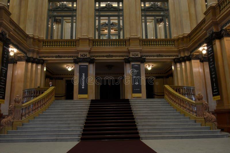 Teatro CÃ ³ lon, Buenos aires, Argentinië royalty-vrije stock foto