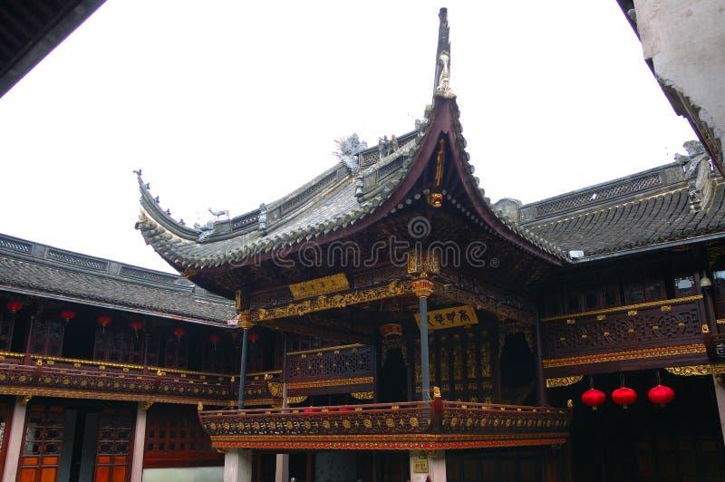 Teatro chinês antigo fotos de stock royalty free