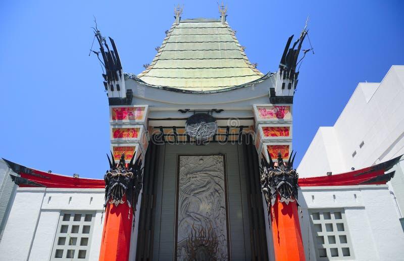 Teatro chinês Hollywood imagens de stock