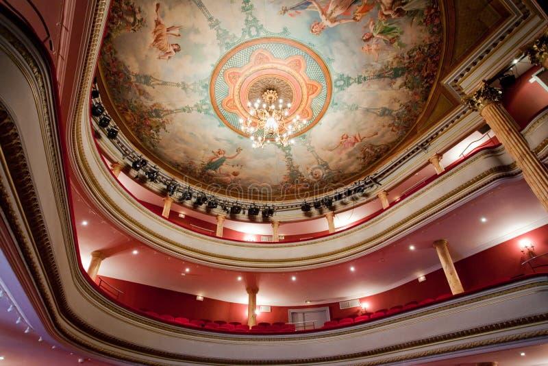 Teatro clásico francés fotografía de archivo libre de regalías