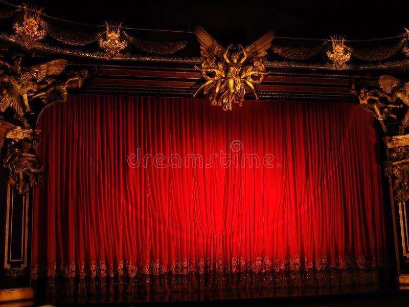 Teatro clássico imagens de stock royalty free