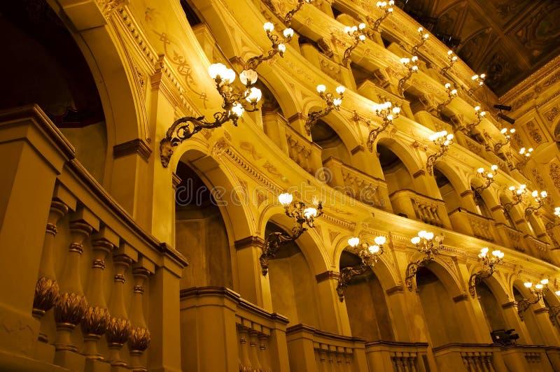 Teatro classico italiano immagini stock
