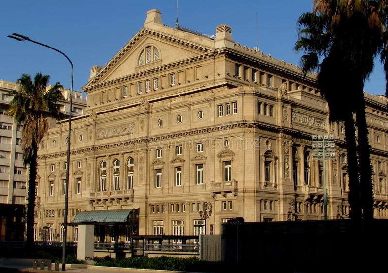 Teatro Colon stock image