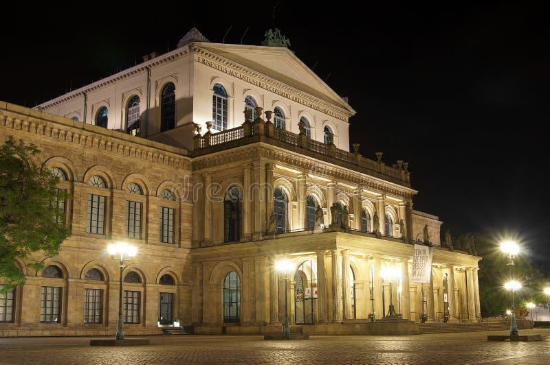 Teatro da ópera de Hanover fotografia de stock royalty free