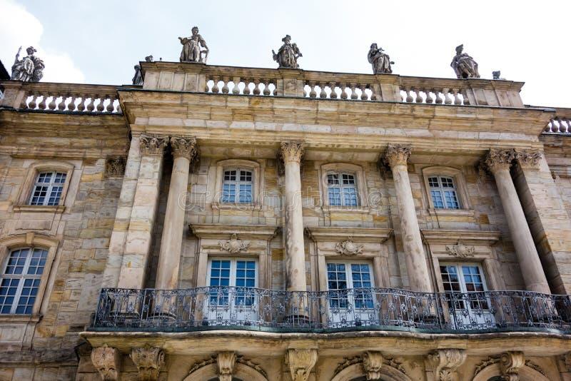 Teatro da ópera de Margravial em Bayreuth Baviera Alemanha foto de stock