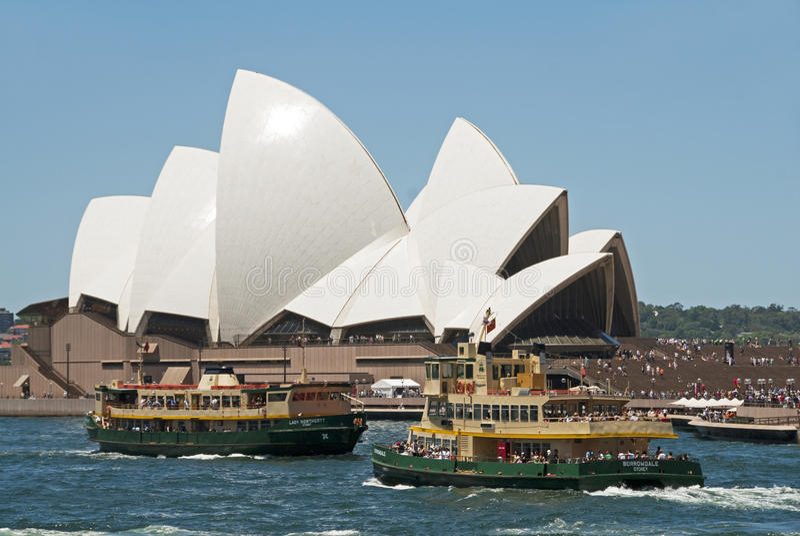 Teatro da ópera de Sydney imagem de stock