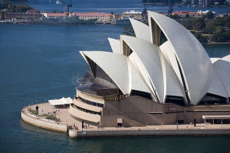 Teatro da ópera de Sydney - Austrália imagens de stock