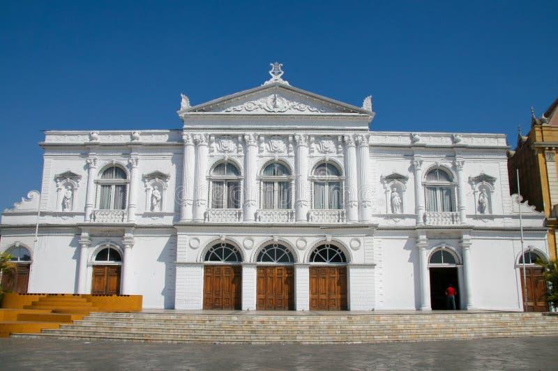 Teatro da ópera em Iquique fotografia de stock royalty free