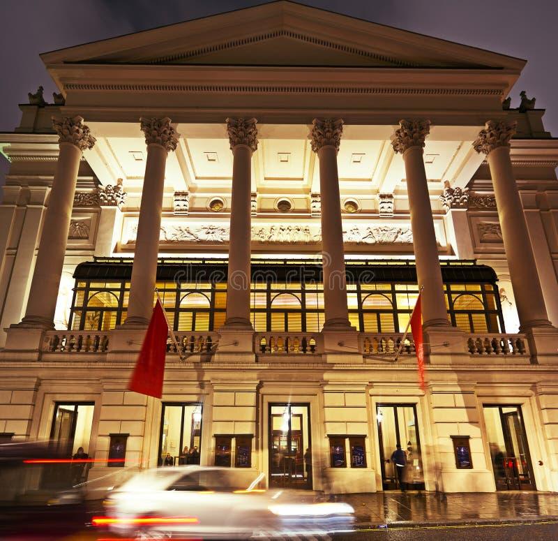 Teatro da ópera real, jardim de Covent, Londres fotos de stock