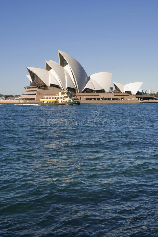 Teatro da ópera Sydney fotos de stock royalty free