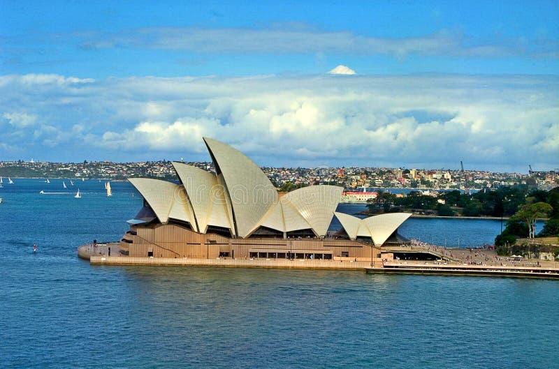 Teatro da ópera, Sydney imagens de stock