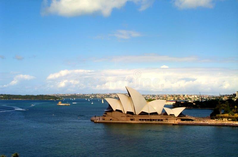 Teatro da ópera, Sydney imagem de stock royalty free