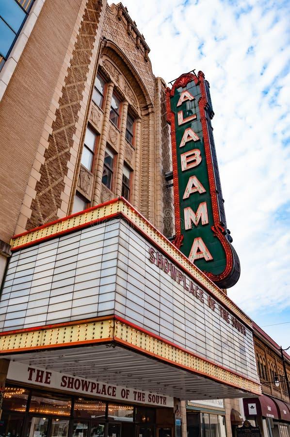 Teatro de Alabama imagenes de archivo