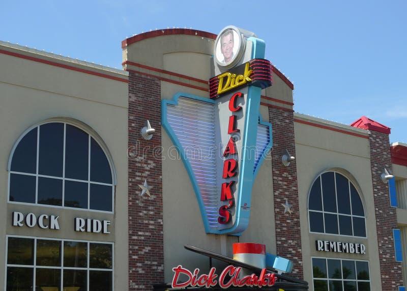 Teatro de American Bandstand de Dick Clark, Branson, Missouri fotos de stock royalty free