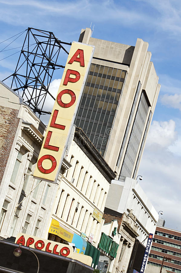 Teatro de Apolo - 125a calle, Harlem imagen de archivo libre de regalías