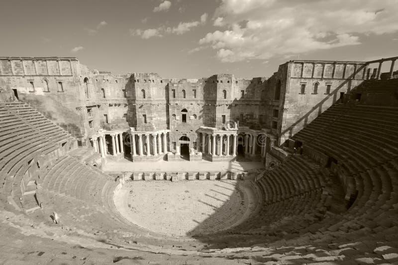 Teatro de Bosra, Syria fotografia de stock royalty free