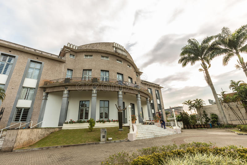 Teatro de Carlos Gomes, Blumenau, Santa Catarina imagem de stock royalty free