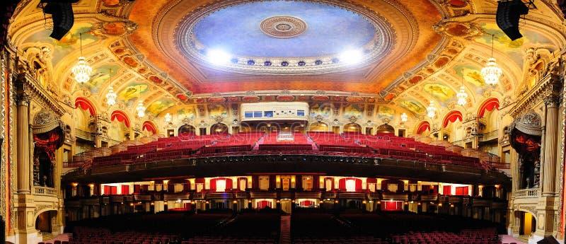 Teatro de Chicago fotos de archivo libres de regalías