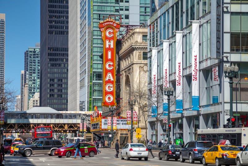 Teatro de Chicago fotos de stock
